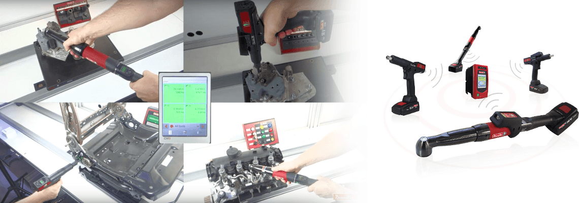 Discover the Multi Battery Tools Solution by Desoutter!