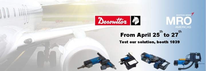 Come & test our Aerospace assembly solutions at MRO America!