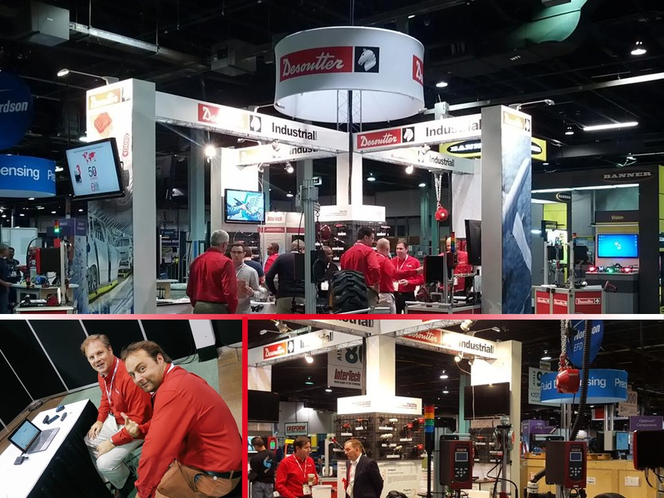 Desoutter Assembly Show Booth