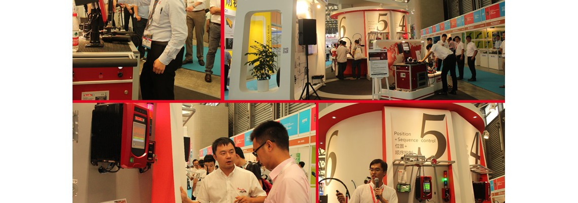 Desoutter Tools was on the AHTE Show in Shanghai