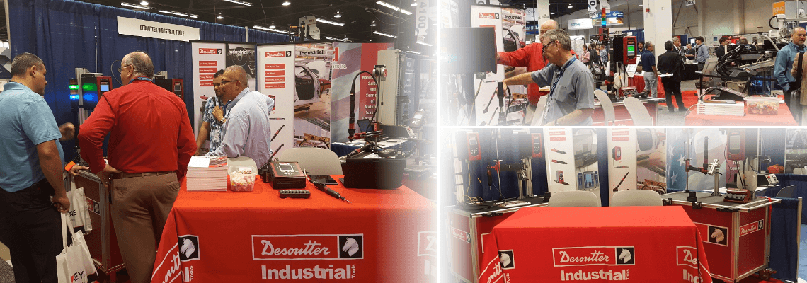 Desoutter presence at Advanced Manufacturing Expo & Conference