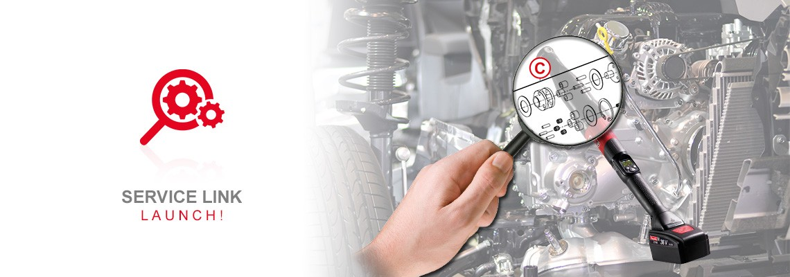Desoutter spare parts go to digital with Service Link!