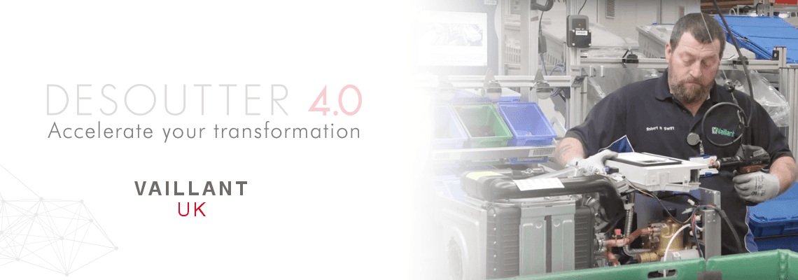 Vaillant UK are accelerating their Industry 4.0 Transformation