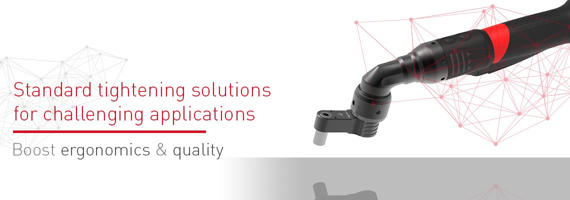 When is a right angle not the right angle? Desoutter's Geared Front Attachment complete solution