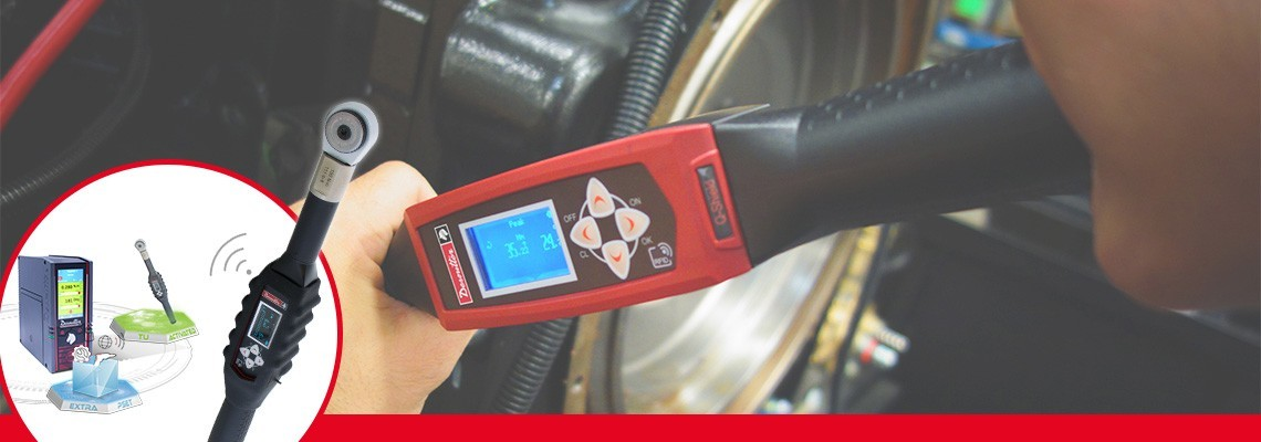 You're looking for a tool that combined productivity and quality? Discover the digital torque wrenches with controlled joints tightening.