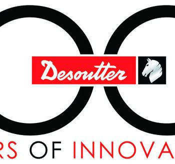 Desoutter 100th Anniversary Logo