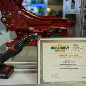 The EABS elected Product of the Year by the Assembly Show visitors