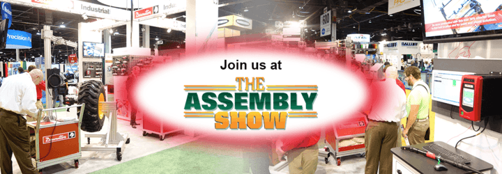 Test our Industry 4.0 solutions during the Assembly Show!