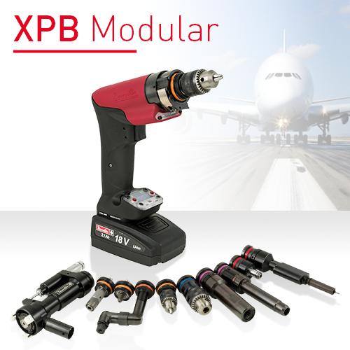 Neue smarte handgeführte modulare Akkulösung: XPB