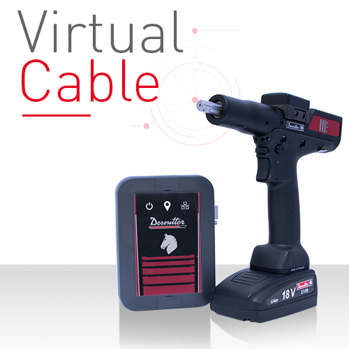 A new Tracking Base for Tools: the Virtual Cable