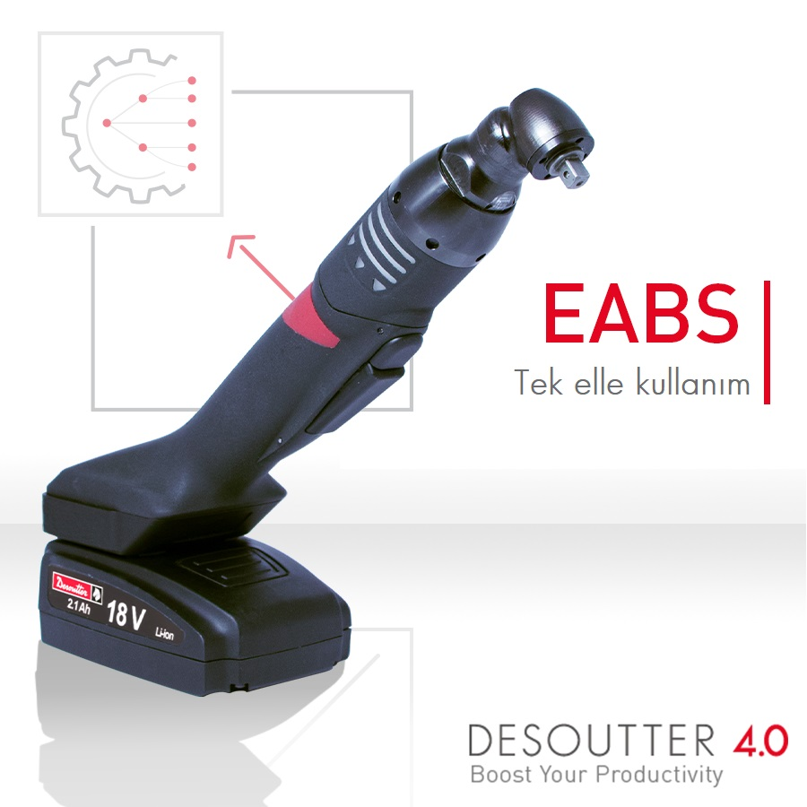 New ergonomic battery-powered nutrunner: the EABS