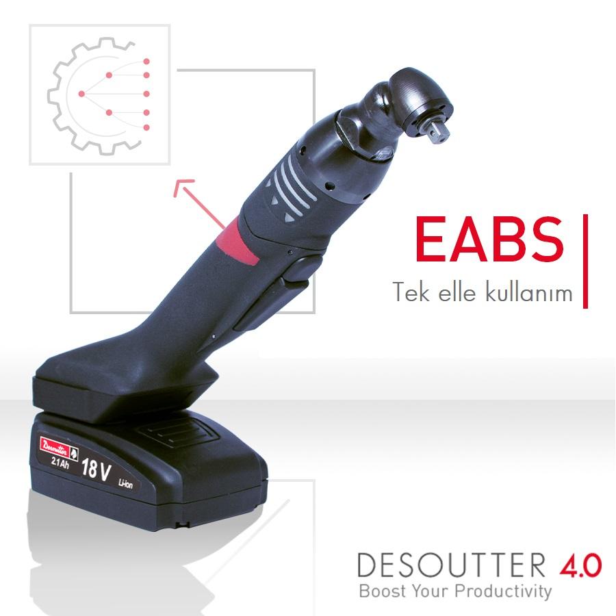 New ergonomic battery-powered nutrunner: the EABS